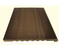 Полнотелые ступени из ДПК Шоколад 20 мм