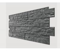 Фасадные панели (цокольный сайдинг) , Stein (песчаник), Антрацит