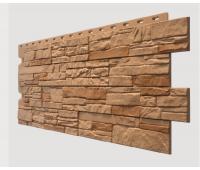 Фасадные панели (цокольный сайдинг) , Stein (песчаник), Waldstein Осенний лес