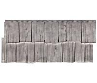 Фасадные панели (цокольный сайдинг) коллекция Щепа Дуб - Кавказ