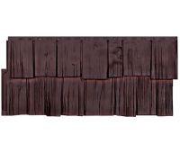 Фасадные панели (цокольный сайдинг) коллекция Щепа - Памир