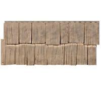 Фасадные панели (цокольный сайдинг) коллекция Щепа - Урал