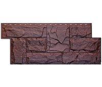 Фасадные панели (цокольный сайдинг) коллекция Гранит Леон - Памир