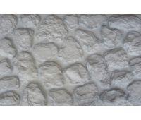 Фасадные панели Камень мелкий Белый
