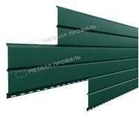 Металлический сайдинг Lбрус-15х240 (PURMAN-20-6005-0.5) Зеленый мох