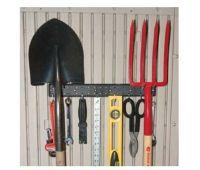 Кронштейн -рейка с крючками для сарая WoodLook