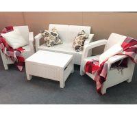 Диван и кресла Terrace Set Белый